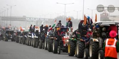 किसान ट्रैक्टर रैली को हरी झंडी