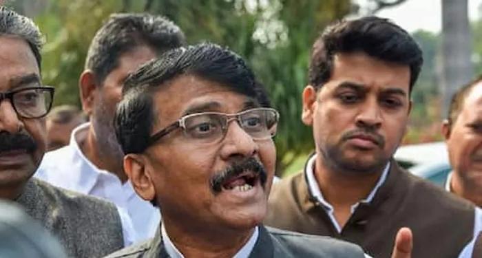 संजय राउत ने कहा मोदी सरकार हिंसा की दोषी
