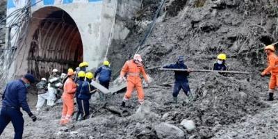 चमोली – ग्लेशियर धंसने की घटना में अब तक 18 शव बरामद, 203 लापता,