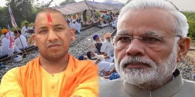 मोदी और योगी फ़्रंट फुट पर किसानों को और बैकफुट पर भाजपा को देख हैरान !
