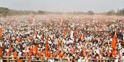 लेफ्ट कांग्रेस और ISF, भाजपा-टीएमसी के खिलाफ हुए एकजुट : ब्रिगेड मैदान पर दिखाया अपना दम