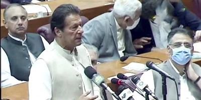 पाकिस्तान के पीएम इमरान ही रहेंगे, विश्वास मत किया हासिल