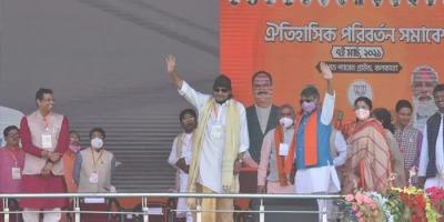 कोबरा की फुंकार हुई फुस, बंगाल चुनाव में भाजपा ने टिकट न देकर किया ढुस