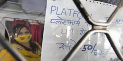 कोरोना के नाम पर लूट, रेलवे ने प्लेटफॉर्म टिकट में पांच गुना तक बढ़ाये दाम