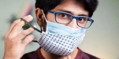 कोरोना वायरस से डबल मास्क देता है दोगुनी सुरक्षा : रिसर्च