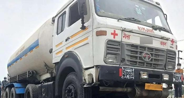 अब भारी-भरकम ऑक्सीजन टैंकर भी बीच से होने लगे लापता, लखनऊ से जा रहा था मध्य प्रदेश