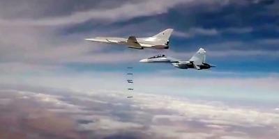रूसी हवाई हमले में कम से कम 200 आतंकवादी मारे जाने का दावा, साथ ही 24 गाड़ियां पूर्णरूप से ध्वस्त