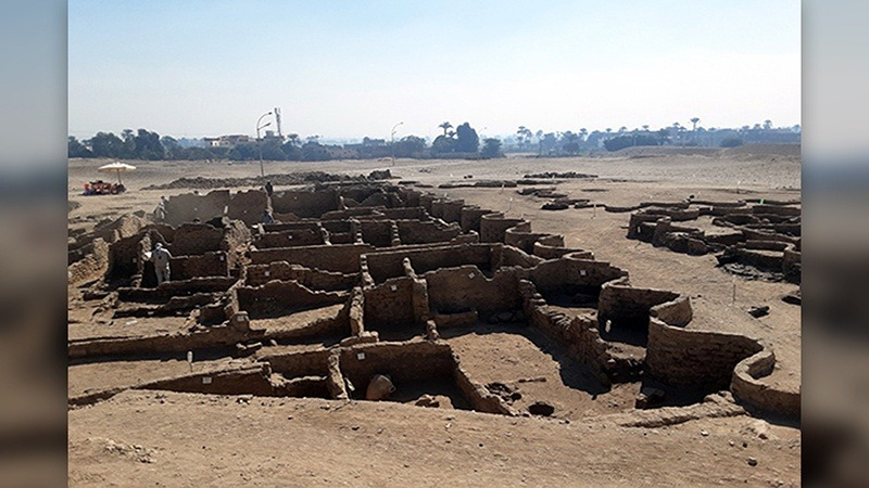 3000 वर्ष पुराना नगर रेत के नीचे मिला