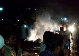 गुजरात: भरूच में कोविड अस्पताल में लगी शॉर्ट सर्किट से भीषण आग के कारण 13 मरीजों समेत 15 लोगों की दर्दनांक मौत